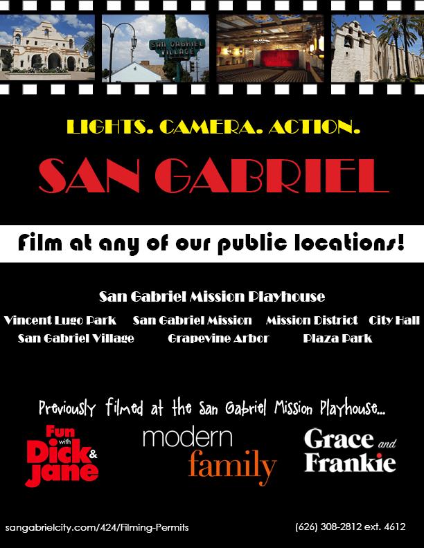 Film Permits | San Gabriel ED, CA